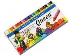 Bút sáp 18 màu Queen