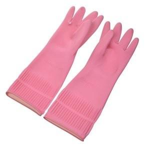Găng tay dài gấp nếp