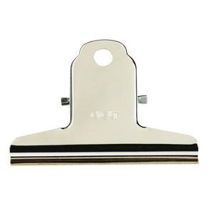 Kẹp sắt 76mm Deli trắng