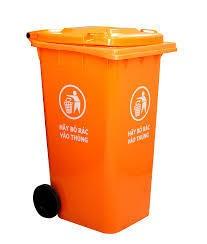 Thùng rác 240L HDPE