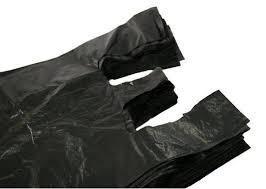 Túi nilon (Bao xốp) đen 25kg đẹp