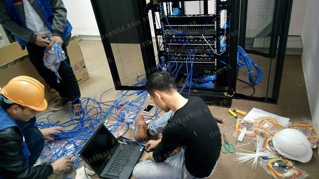 Thi công, lắp đặt hệ thống mạng LAN, WIFI